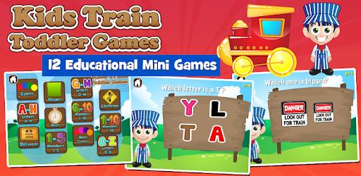 Toddler Train Games Free apk