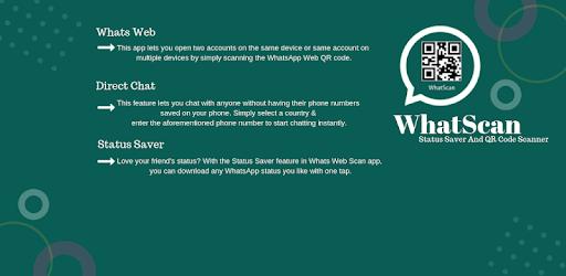 Whatscan : Whats web & WhatScan Cleaner apk