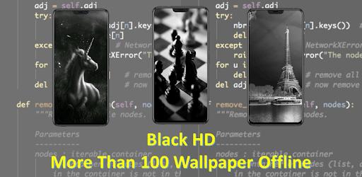 Black Wallpaper Full HD apk