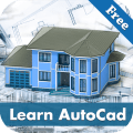 Learn AutoCAD - 2020: Free Video Lectures Icon