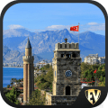 Antalya Travel & Explore, Offline City Guide Icon