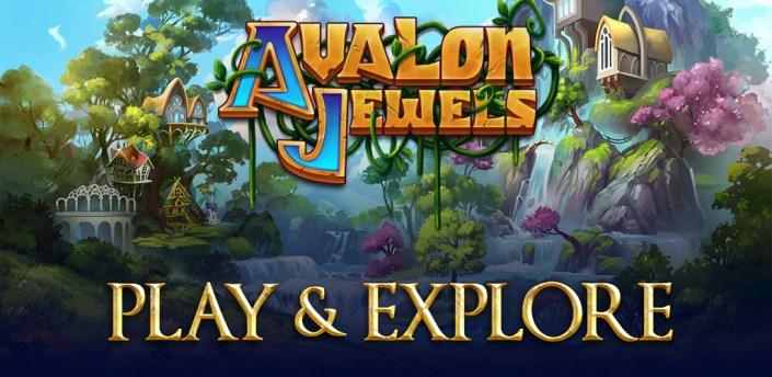 Avalon Jewels Match-3 apk
