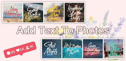 Add Text to Photos - Photo Text Edit, Quotes Maker apk