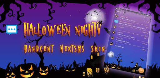 Halloween Night skin for Next SMS apk