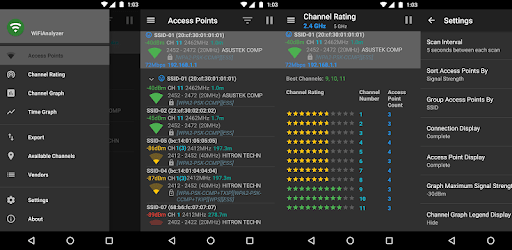 Wifi analyzer (open source) apk