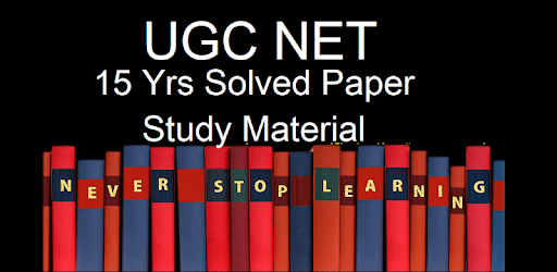 UGC NET 15 Years Solved Papers With Study Material apk