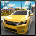 City Taxi Driver Simulator 3D Icon