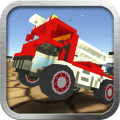 Blocky Destruction Derby Icon