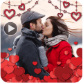 Valentine Day Video Maker with music Icon