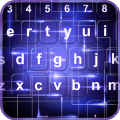 Electric Neon Color Keyboard Icon