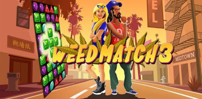 Crush Weed Match 3 Candy Jewel - cool puzzle games apk
