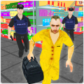 Gangster Escape Supermarket 3D Icon