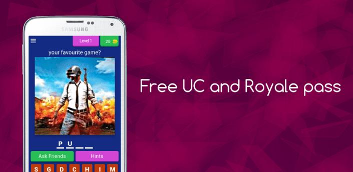 Free UC and Royal pass 2021 apk