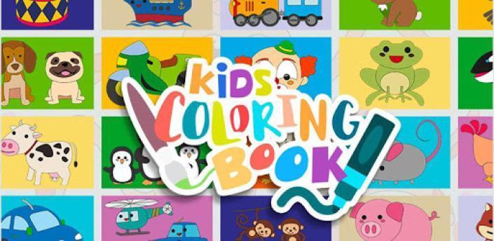 Kids painting & coloring game apk