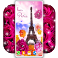 Paris Live Wallpaper ❤️ French Love Wallpapers Icon
