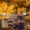 Wood Candles Live Wallpaper Icon