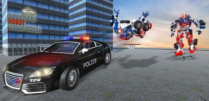 US Police Robot Transport Truck Driving Games apk