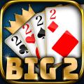BIG 2: Free Big 2 Card Game & Big Two Card Hands! Icon