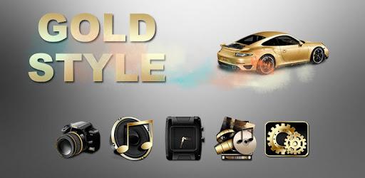 Gold Luxury Car Launcher apk