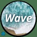 Wave - Customizable Lock screen Icon