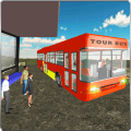 Tourist Bus Offroad Driving 3D Icon