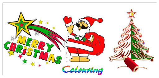 Merry Christmas Colouring apk