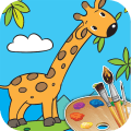 Coloring Book - Color Animals Icon