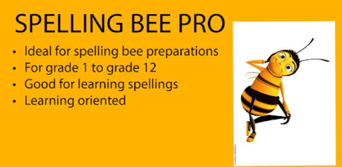 Spelling Bee pro - spelling bee prepatory apk