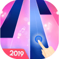 Magical piano Tap pink tiles Icon