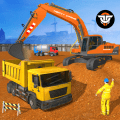 Heavy Excavator City Builder: Construction Games Icon