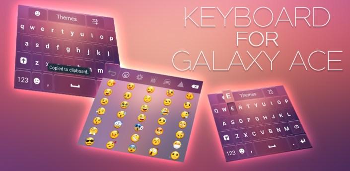 Keyboard for Galaxy Ace apk