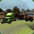 Farm Truck: Tractor Transport Icon