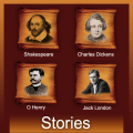 Famous Writers Stories & Novels Icon