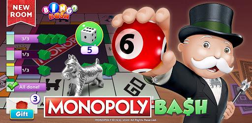 Bingo Bash featuring MONOPOLY: Live Bingo Games apk