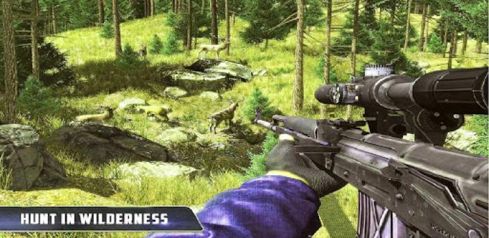 Sniper Shooter Jungle Animal Hunter- Pro Hunting apk
