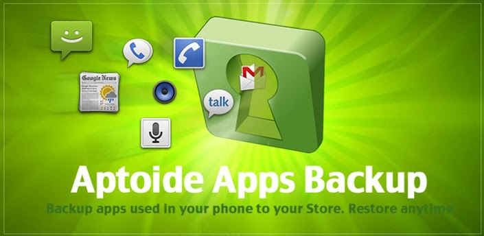 Aptoide Backup Apps apk