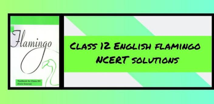 Class 12 English Flamingo NCERT Solutions apk