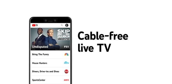 YouTube TV: Live TV & more apk