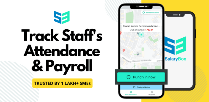 SalaryBox Staff Attendance, Work & Payroll Manager apk
