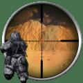 3D Soldier Sniper Icon