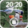 4K Garden Birds Lock Screen Wallpaper Icon