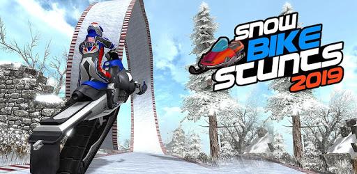 Snow Bike Stunts Racing - Mad Bike Race apk