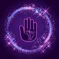 Astrology horoscope, palm reader, tarot: Astroline Icon