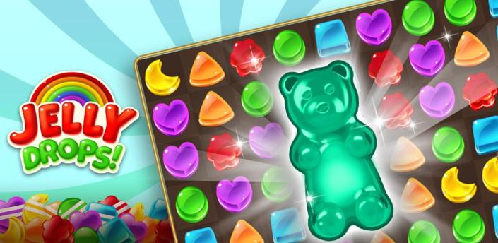 Jelly Drops - Free Puzzle Games apk