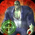 Modern Zombie Defense n combat Icon