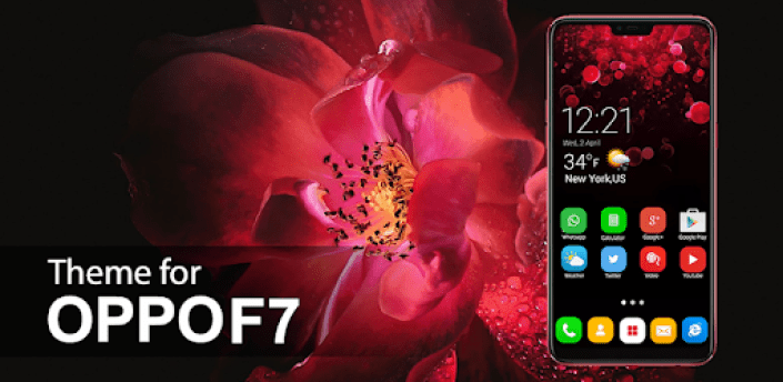 Theme Launcher for Oppo F7- Themes & Wallpaper HD apk