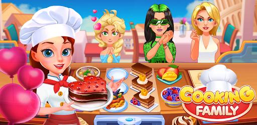 Cooking Family :Craze Madness Restaurant Food Game apk