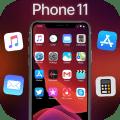 iLauncher Phone 11 Max Pro OS 13 Black Theme Icon