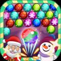 Bubble Santa Christmas Icon