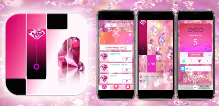 Pink Diamond Magic Tiles apk
